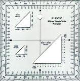Triangle échelle rapporteur