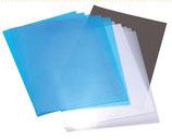 Feuilles Rhodoïde 150 microns  en PVC transparent