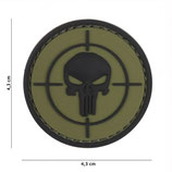 Patch cible Punisher verte