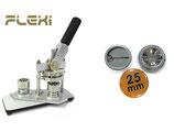 VERMIETUNG: Buttonmaschine Fa. Badgematic (Mietdauer 5 Tage) 25 oder 50mm