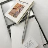 Geschenk-Set für Silberstiftzeichnung in Metalldose