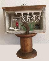 "Storytelling-Box ""theatre for bear"" (Mini-Schublade, 5 x 7 cm)"