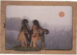 """Laser-Brief (Doppel-)Karte """"Paar in der Landschaft"""""""