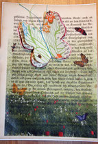 """""""LostPaper"""" - Schmetterling II - Briefkarte (m. Umschlag)"""