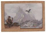 """ProdukLaser-Brief (Doppel-)Karte """"Junge mit Vogel"""""""