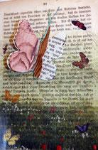 """LostPaper"" -Schmetterling I -Briefkarte (m. Umschlag)"