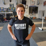 Nike Weightlifting Elite Shirt - schwarz