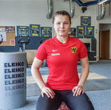 Support German Weightlifting Damen Shirt - rot