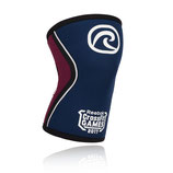 CrossFit Games 5mm Kniebandage 2017 navy/burgundy und blau/rot