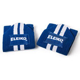 ELEIKO Wrist Wraps - cotton pair, navy