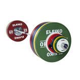 ELEIKO IWF WL Competition Set - 190 kg, men, FG