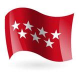 Bandera Exterior, Comunidades  Autonomas