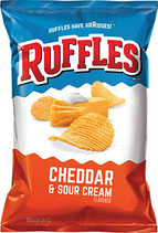 Ruffles Cheddar Cheese & Sour Cream