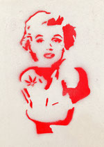 Postkarte: Monroe