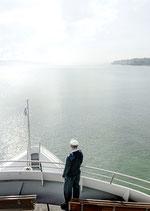 Postkarte: Schiff ahoi!