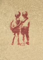 Postkarte: Los Amigos