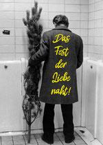 Postkarte: Das Fest der Liebe naht!