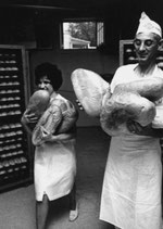 Postkarte: Brot ist fertig!