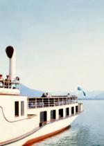 Postkarte: Dampferfahrt