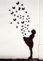 Postkarte: Schmetterlinge