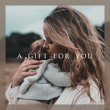 "Gutschein ""A Gift for You"""
