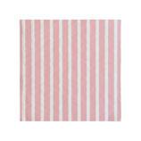Servietten Streifen rosa