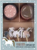 Cupcake Set EINHORN