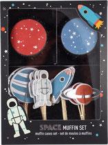 Cupcake Set SPACE