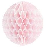 Wabenball rosa Mini mit Wellenrand