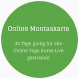 Online Monatskarte für alle live Streams