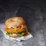 Vegey-Crunch Burger