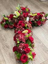 Croix florale