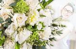 Bouquet SURPRISE du fleuriste Blanc vert