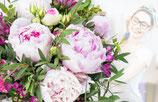 Bouquet Surprise de votre fleuriste ROSE & BLANC