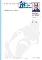 Briefpapier,  A4, 1-seitig farbig