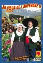 """DVD  """"Au coeur de l'Auvergne"""" vol2   19€90"""