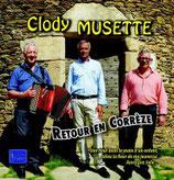"""CD CLODY MUSETTE """"Retour en Corrèze"""""""