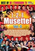 DVD 123 MUSETTE   Vol 4