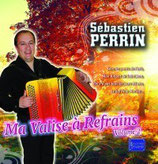 """Nouveau CD Sébastien PERRIN """"Ma valise à refrains vol2"""""""