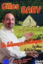 """DVD Gilles SABY """"De l'Auvergne à l'Aveyron"""" 19,00€"""