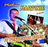 """CD Mathieu MARTINIE """"Je t'envoie du soleil"""""""