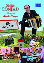"""NOUVEAUTE DVD Sege CONJAD et l'orchestre Lou Parça """" En balade"""""""