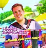 """NOUVEAUTE CD Nicolas RAPICAULT """"Musette dans mon coeur"""""""