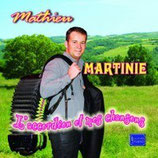 "CD Mathieu MARTINIE ""L'accordéon et mes chansons"""