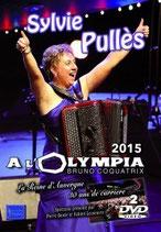 NOUVEAUTE  DVD Sylvie PULLES à l'OLYMPIA 2015  -  2 DVD