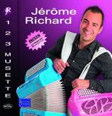 """Nouveau  CD Jérome RICHARD """"Le MEILLEUR des EMISSIONS TV 123 MUSETTE"""""""