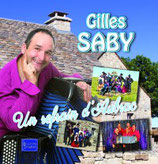 "CD Gilles SABY "" Un refrain d'Aubrac"""