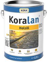 Koralan® Holzöl - Pflegeöl auf Naturöl- und Wasserbasis