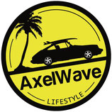Sticker Axelwave Lifestyle yellow