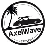 Sticker Axelwave Lifestyle white